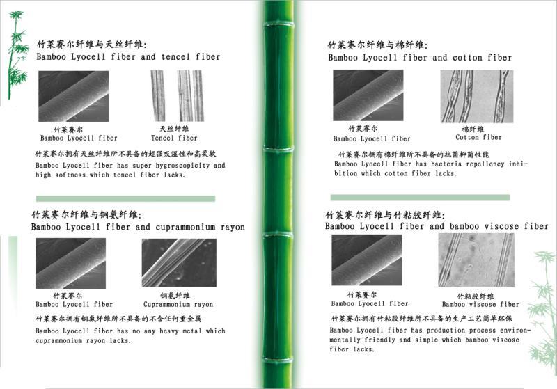 竹莱赛尔与竹粘胶、天丝、铜氨纤维的区别