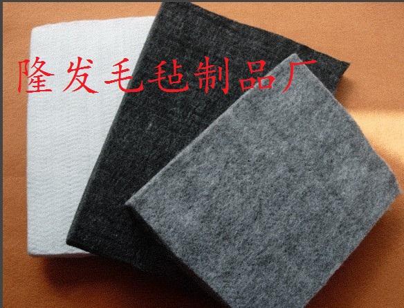 毛毡布厚型,硬质毛毡布,针扎棉布面料